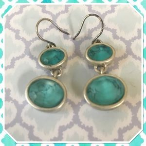 Kenneth Cole Reaction Aqua Stone Earrings